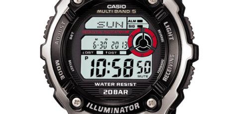 Casio WV-M200 Alarmzeit Einstellen / Casio 3139