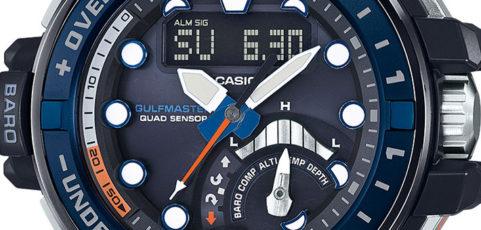 G-Shock GWN-Q1000 Uhrzeit Einstellen / Casio 5477
