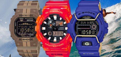[G-Shock Guide] Top 10 G-Shock G-Lide mit Gezeitendiagramm
