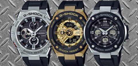 [G-Shock Guide] Top 10 G-Shock G-Steel Uhren