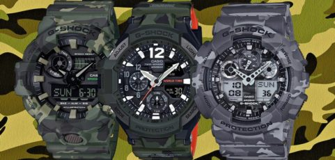 [G-Shock Guide] Top Camo G-Shock-s für das Militär