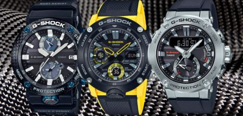[G-Shock Guide] Top G-Shock-s mit Carbongehäuse
